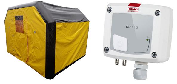 Field hospital pressure sensor